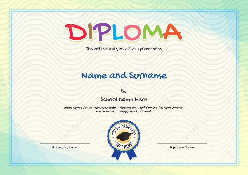 Imágenes diplomas descargar plantillas Plantilla de certificado