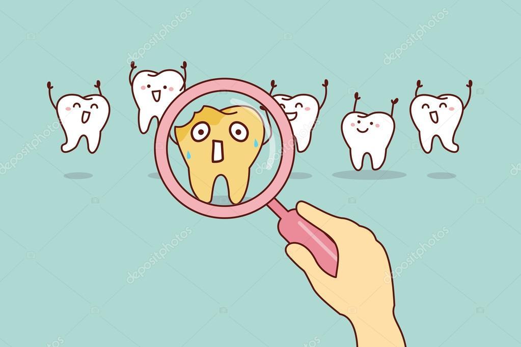 Cute Dental Wallpaper Diente De Caries De Dibujos Animados Archivo Im 225 Genes