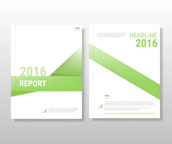 Vector Leaflet Brochure Flyer template A4 size design, annual report