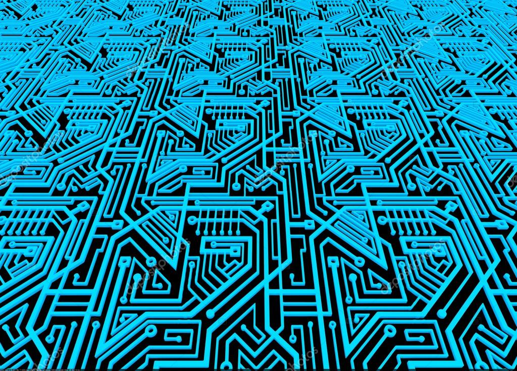 Computer circuit board background \u2014 Stock Photo © geerati@gmail - circuit design background