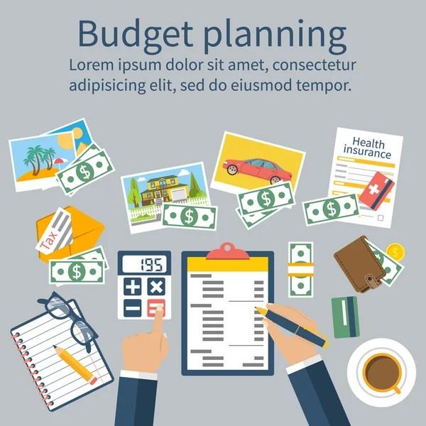 Budgeting Stock Vectors, Royalty Free Budgeting Illustrations