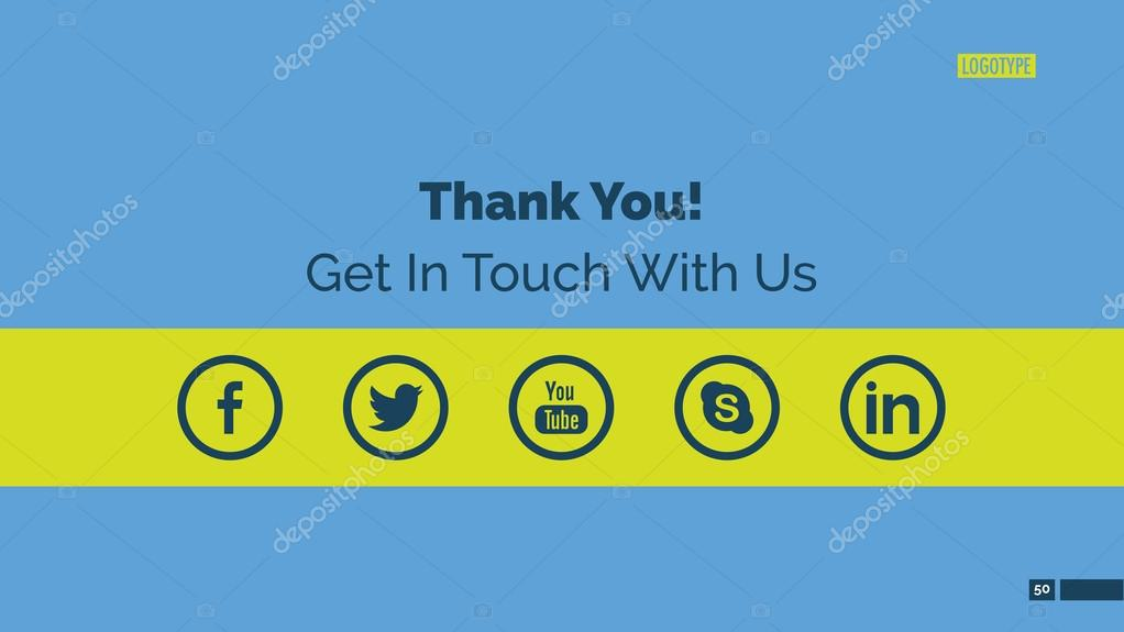 Thank You Page Template \u2014 Stock Vector © surfsupvectorgmail