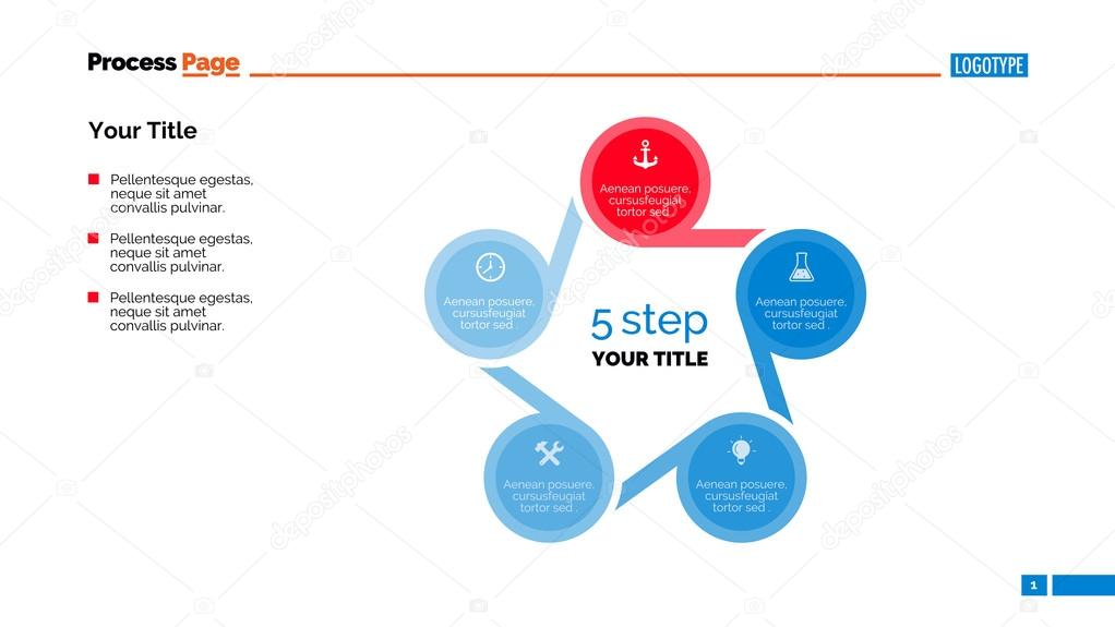 Cycle Diagram Slide Template \u2014 Stock Vector © surfsupvectorgmail