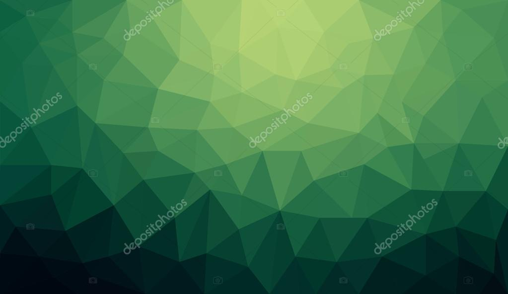 Green gradient abstract polygon background \u2014 Stock Vector © sd10583