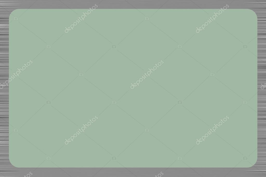 Green background with greyscale horizontal line boarders all rou