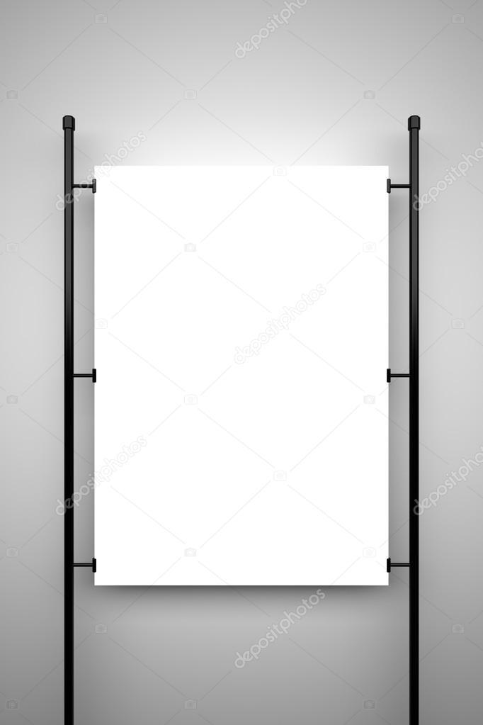 Blank poster, mockup \u2014 Stock Photo © BlueVistaDesign #101941982