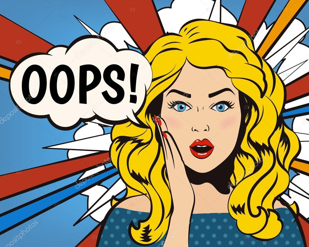 Bubble Wallpaper Hd Pink 3d Oups Femme Oups Font Face Femme Surprise Fille De Pop