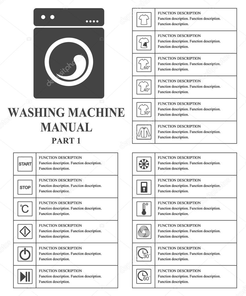 Oven Symbool Oven Manual Symbols. Part 1 Instructions. Signs And