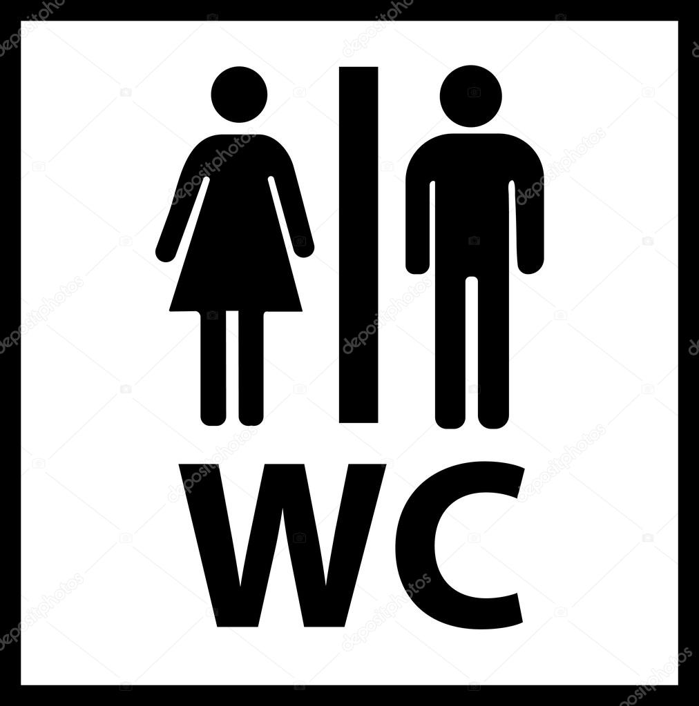 Wc Afbeelding Wc Pictogram. Wc Pictogram Vector. Wc Pictogram Eps. Wc