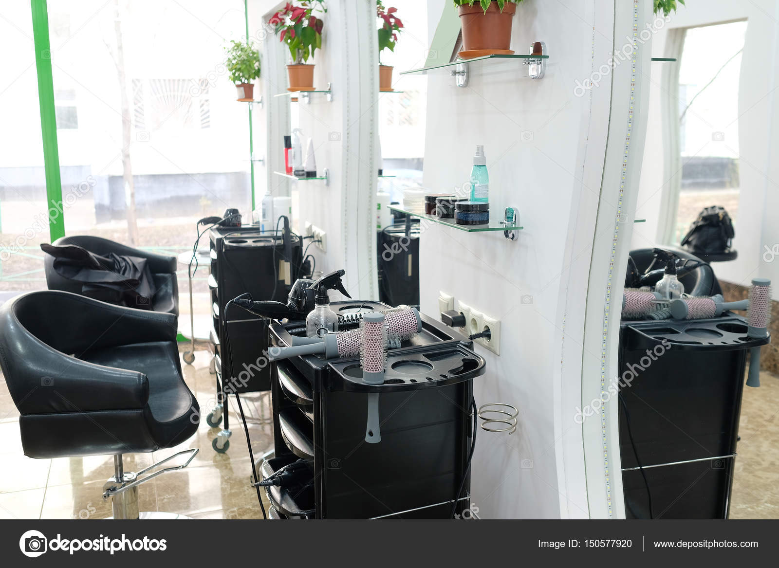 Hairdressing Salon A Hairdressing Salon Stock Photo Uatp12 150577920