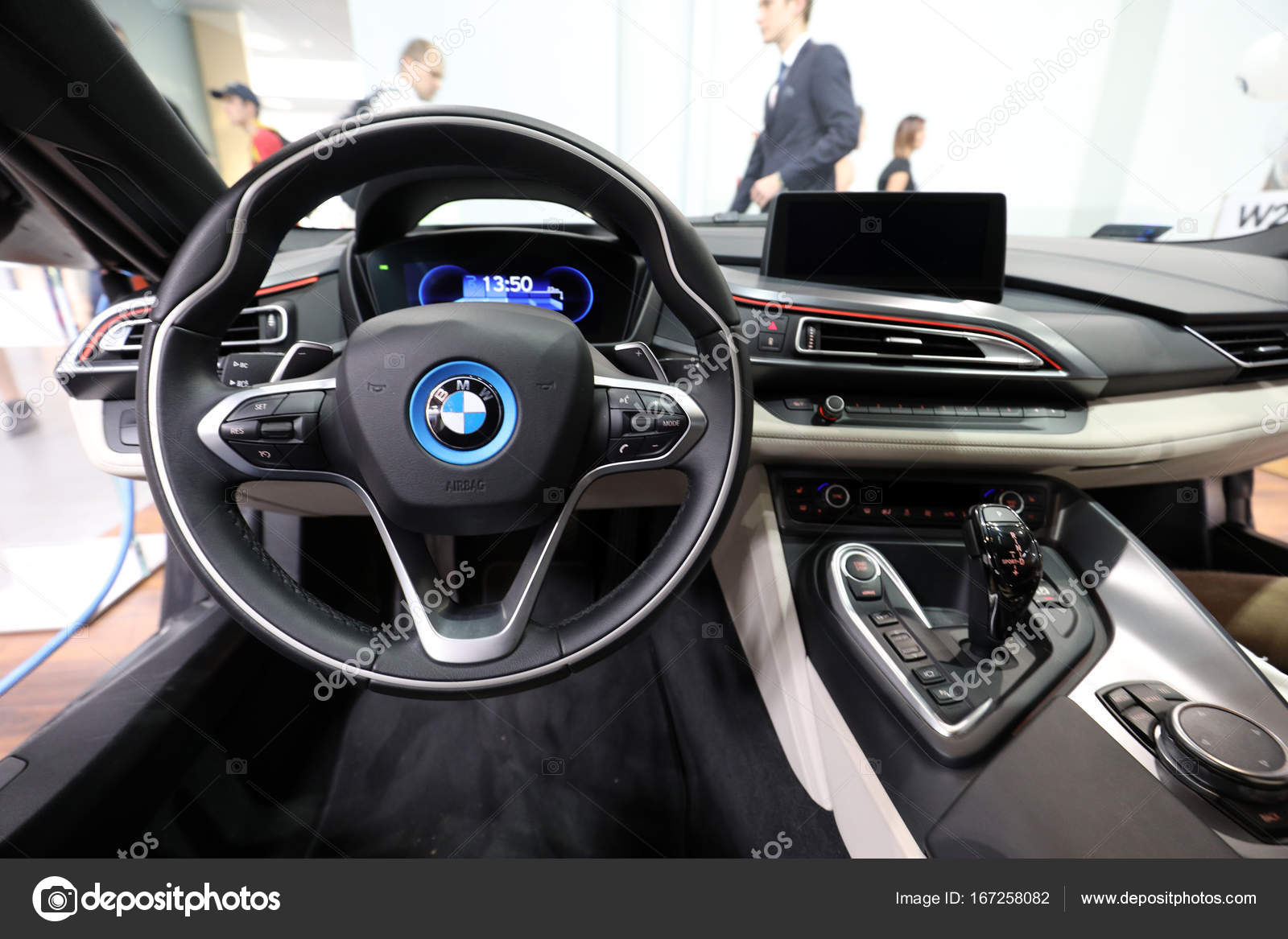 Bmw I8 Interieur Interior Design Of Bmw I8 Displayed At Moto Show In Cracow Poland