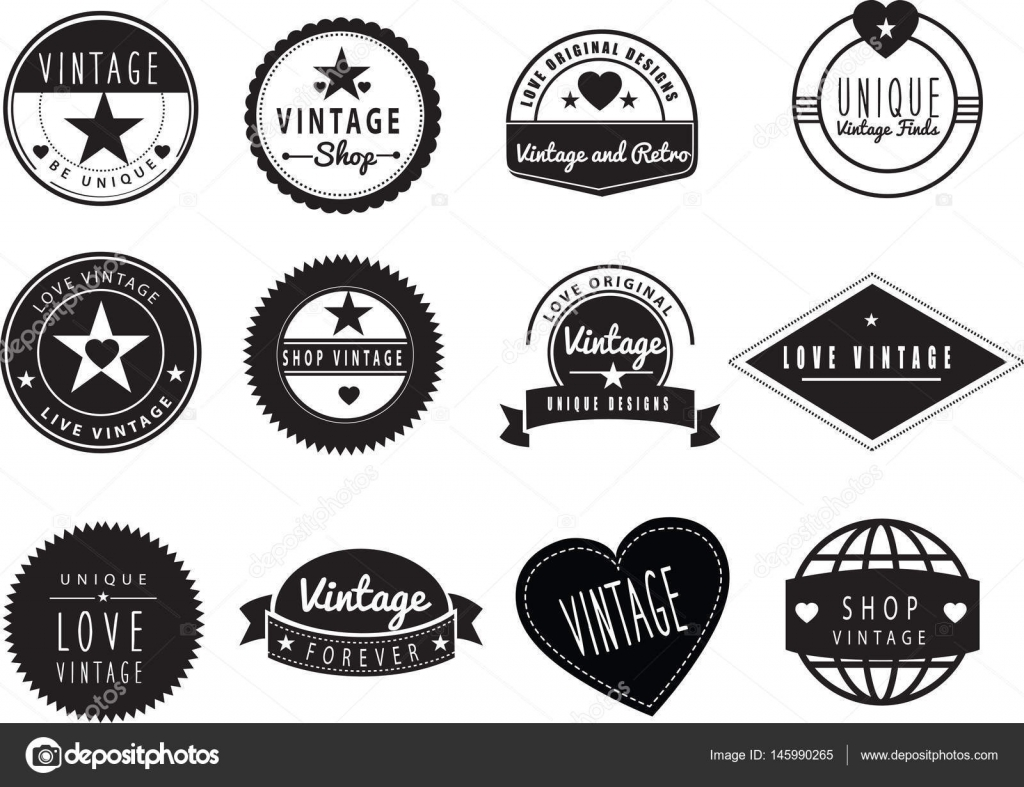 Retro Vintage Logo List Of Synonyms And Antonyms Of The Word Retro Logos
