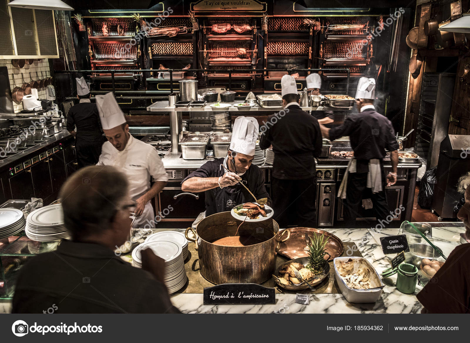 Les Buffets Interior Of Les Grands Buffets Stock Editorial Photo Cspcsp