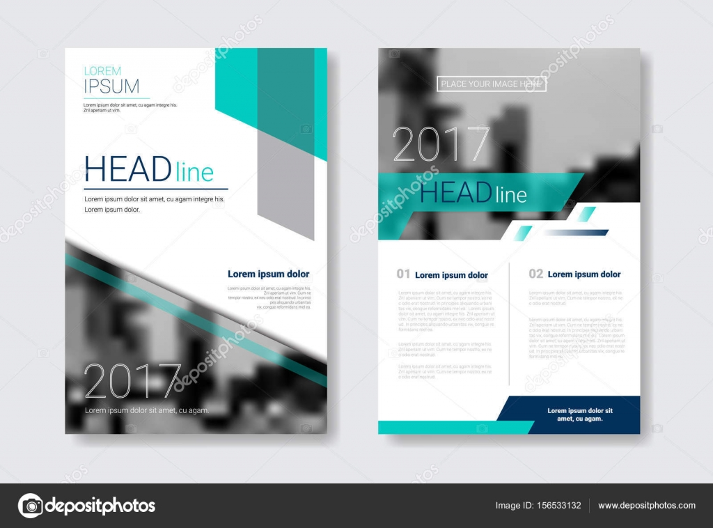 Template Design Brochure, Annual Report, Magazine, Poster, Corporate - annual report template design
