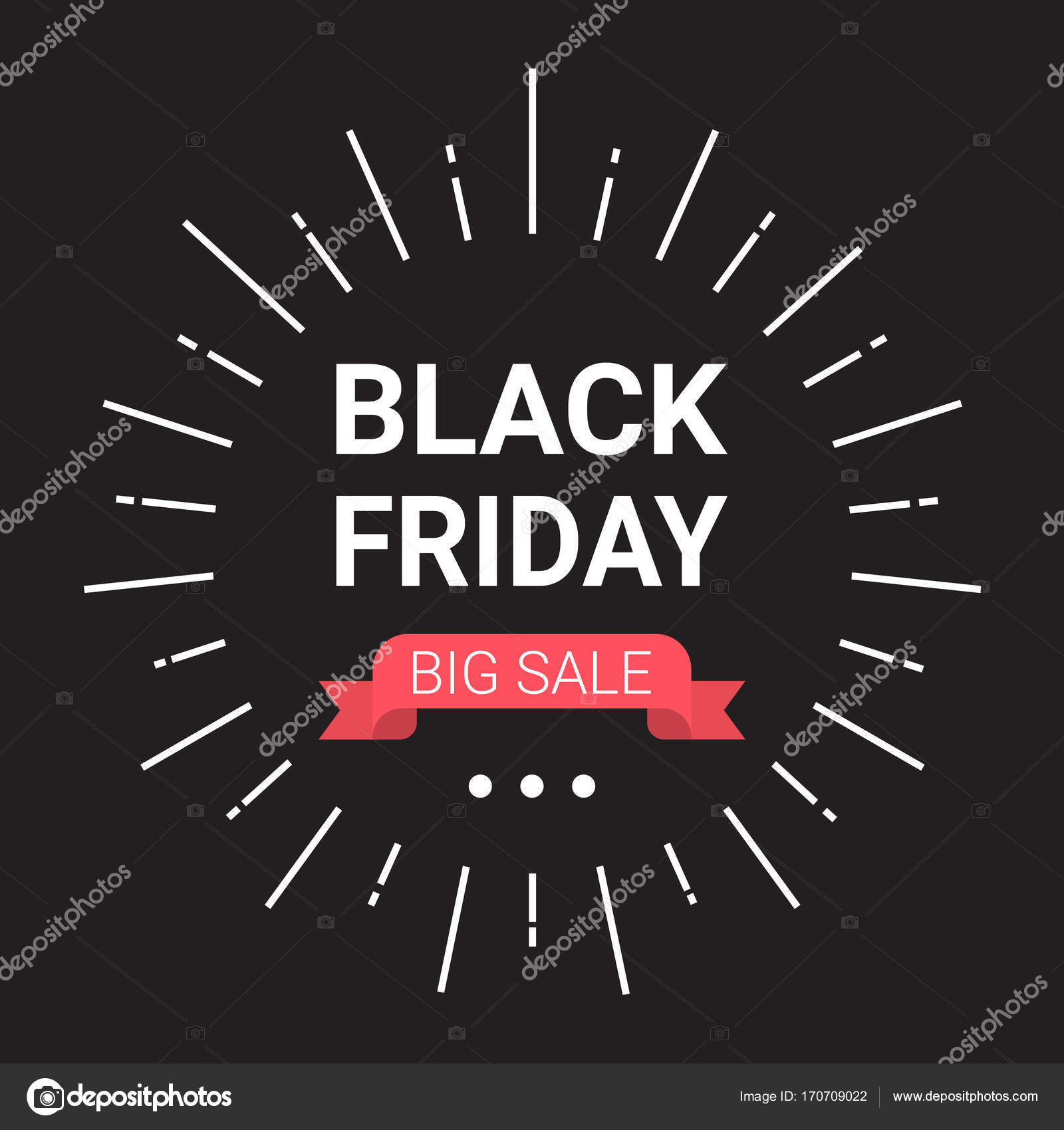 Black Friday Rabatt Black Friday Big Sale Banner Urlaub Rabatt Designkonzept