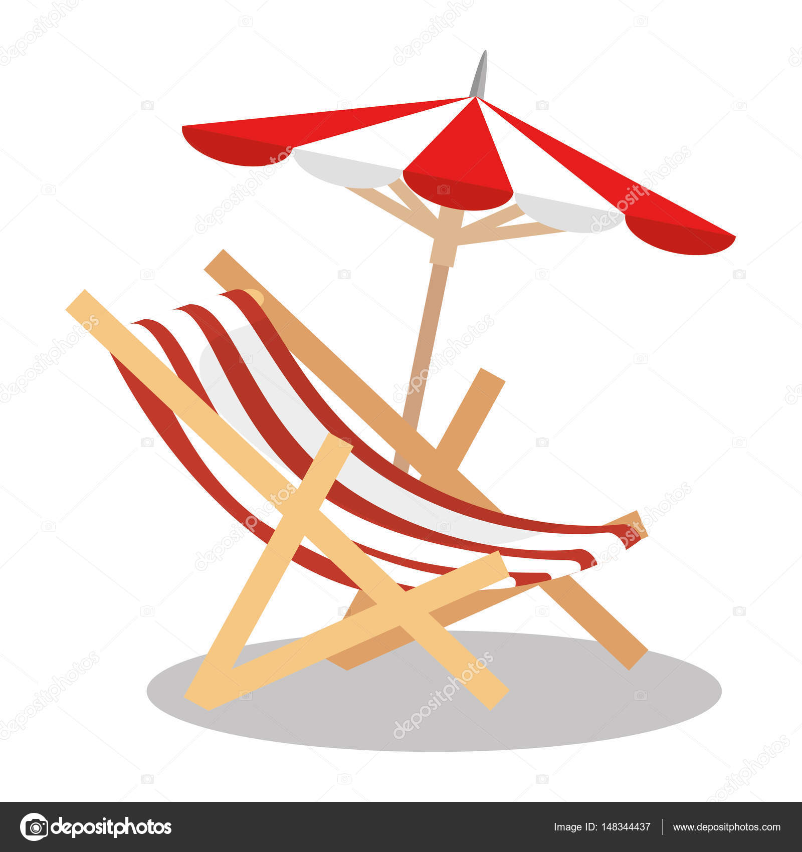 Clipart Liegestuhl Clipart Liegestuhl Person On Sunbed And Umbrella Icon
