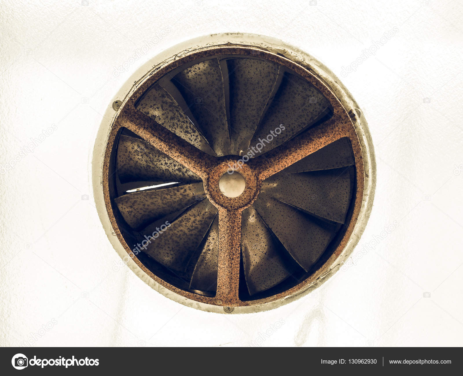 Vintage Looking Fan Vintage Looking Rusty Old Fan Stock Photo Claudiodivizia