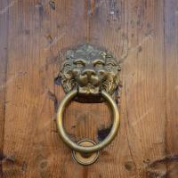 Antique door knob  Stock Photo  khorzhevska #129374612