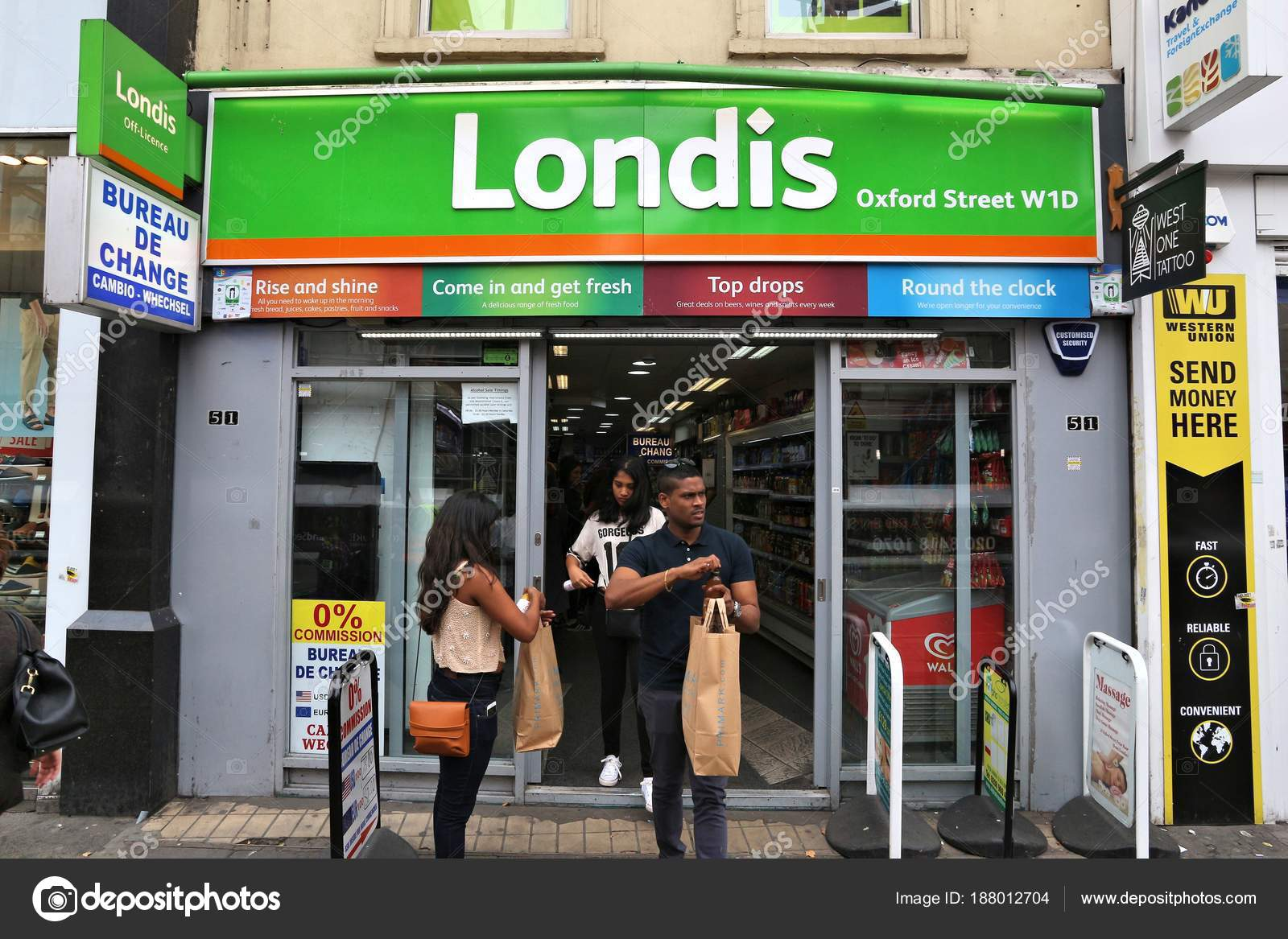Stores Bureau Londis Convenience Store Stock Editorial Photo Tupungato