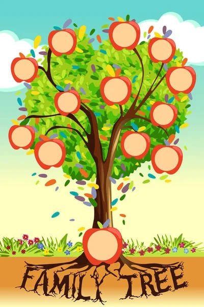 Family tree vector Stock Vectors, Royalty Free Family tree vector