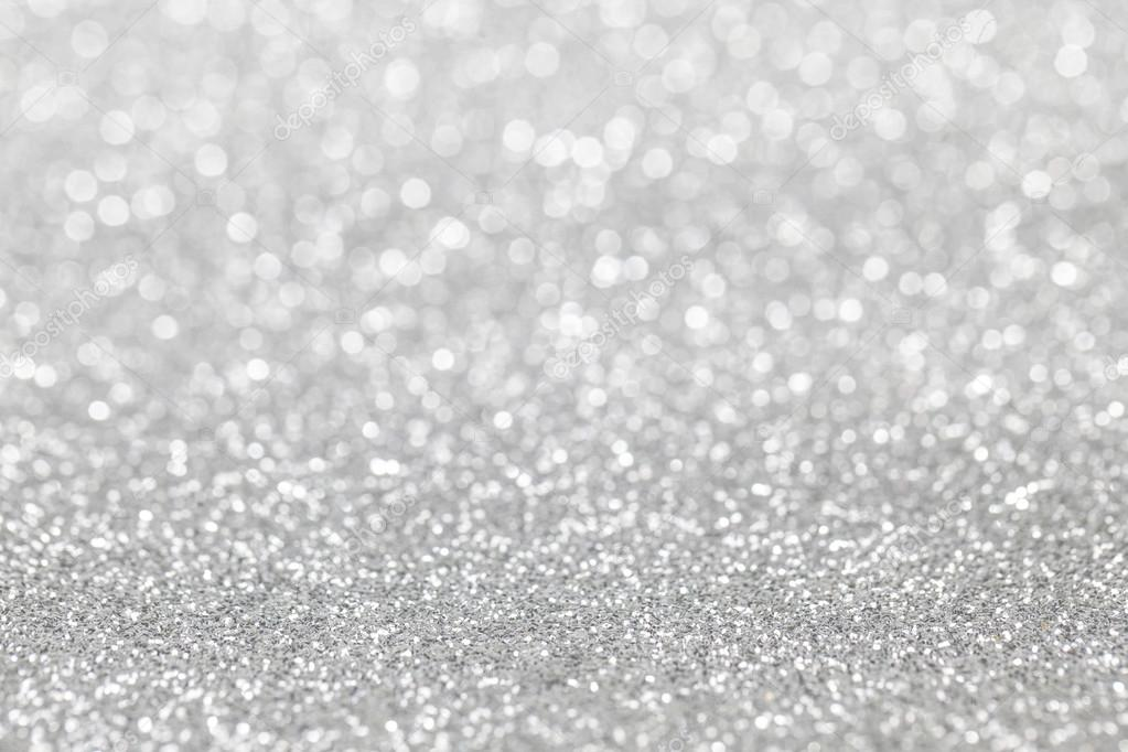 Falling Glitter Confetti Wallpapers Abstract Silver Glitter Background Stock Photo