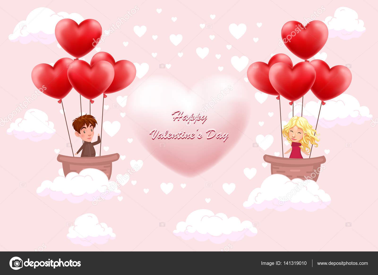 Fondos para enamorados Tarjeta de la invitación de San Valentín