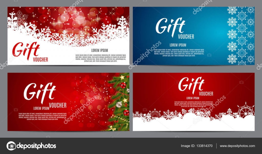 Christmas and New Year Gift Voucher, Discount Coupon Template Co - discount coupon template