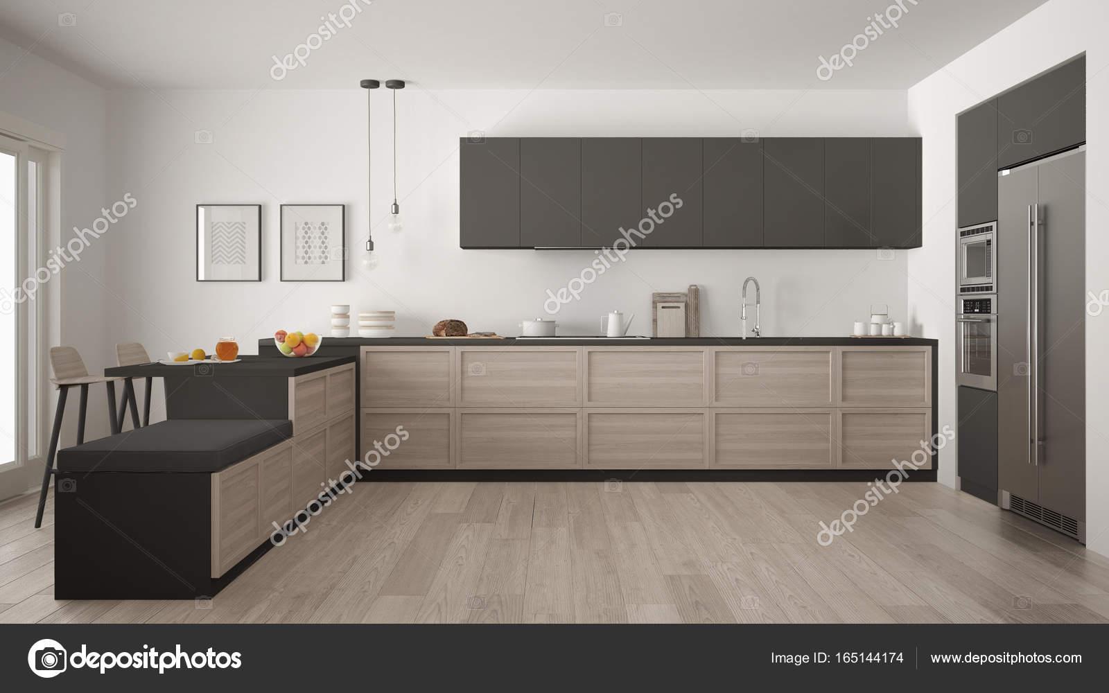 Cucina Classica E Soggiorno Moderno | Come Arredare Un Open Space ...