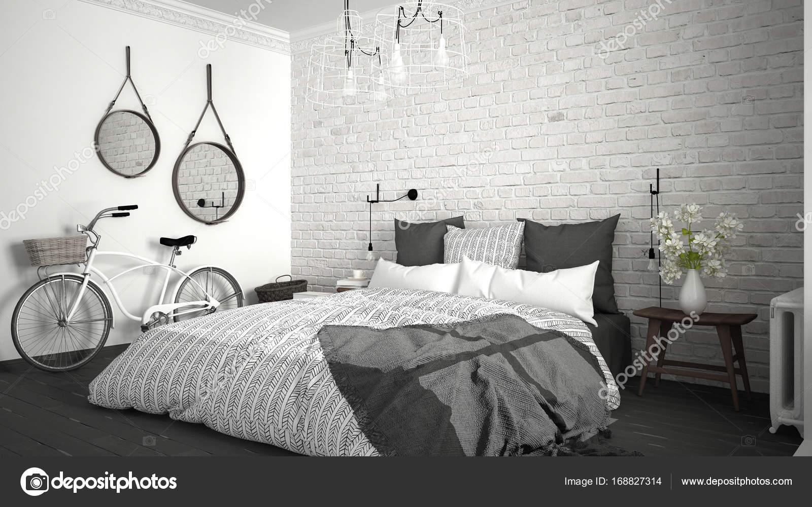 Camera Da Letto Bianco E Grigio : Idee per arredare la camera da letto in rosso e grigio