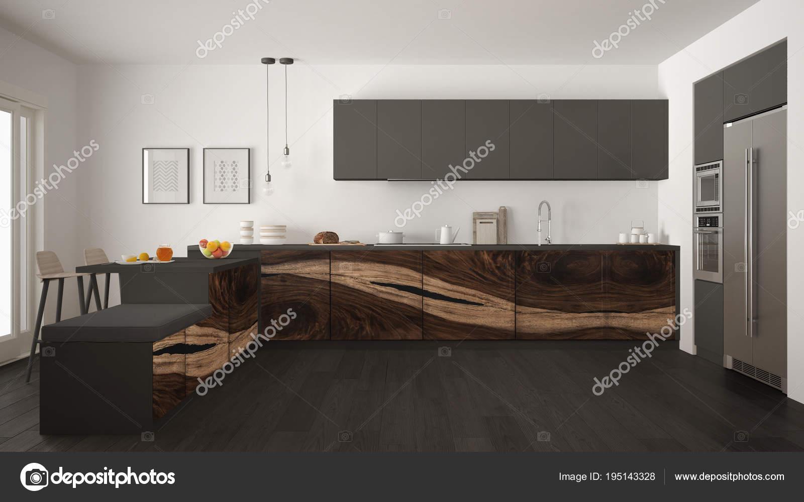 Pavimento Scuro Cucina: Cucina bianca pavimento scuro abbinamenti ...