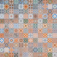 Ceramic tiles patterns from Portugal  Stock Photo ...