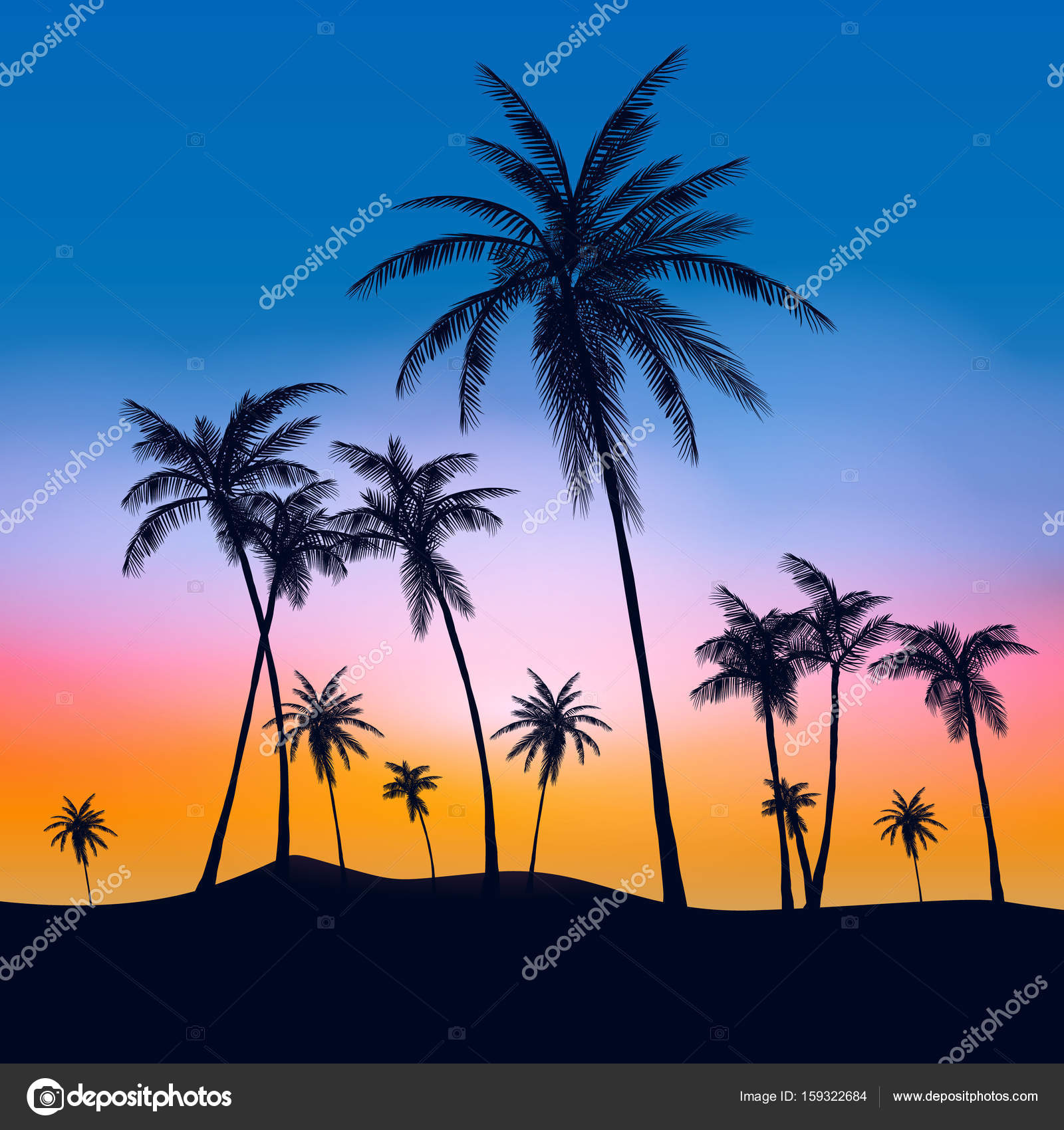 Palm Tree Iphone Wallpaper Summer Palm Trees Tumblr Www Pixshark Com Images