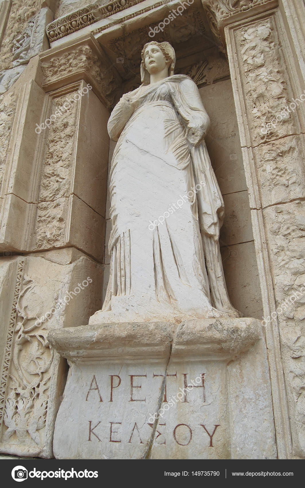 Arete From Greek Visiting Apeth Greek For Arete The Statue Representing Virtue