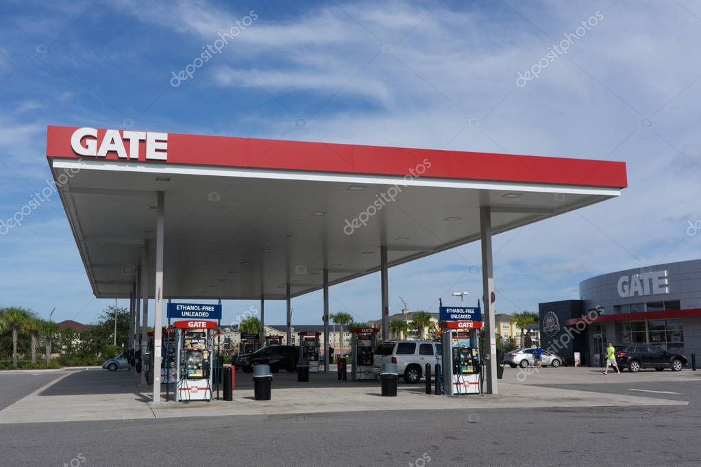Gate Gas Station \u2013 Stock Editorial Photo © ventanamedia #129069436