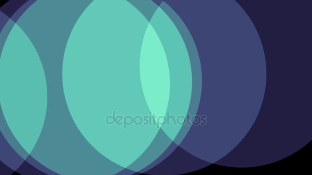 circles soft pastel colors shape abstract background animation New - animation circles