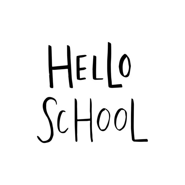 Welcome Back School Vector Template Flyer Magazines Posters Book - welcome back template