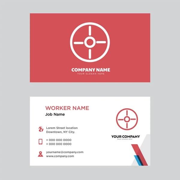 Compass business card design \u2014 Stock Vector © vector_best #194930900