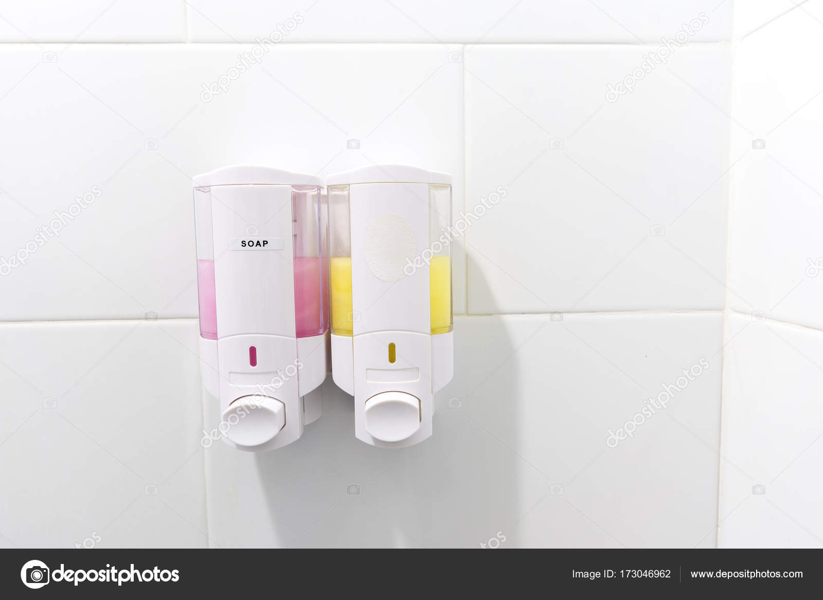 Bathroom Shower Dispensers Wall Mount Shower Pump Shampoo And Soap Dispensers In Bathroom