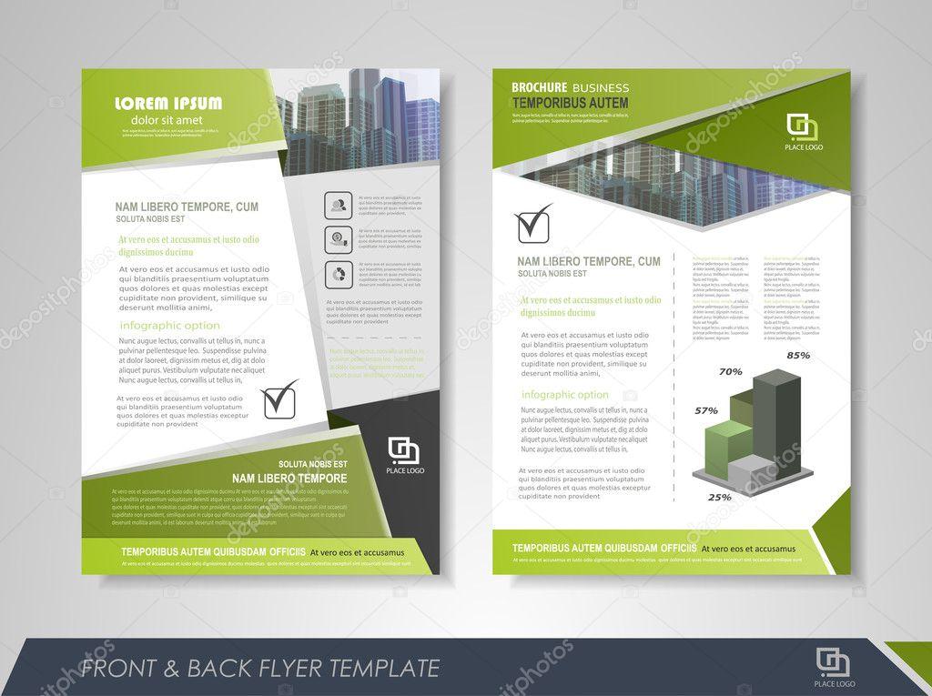 Creative corporate brochures \u2014 Stock Vector © stekloduv #128059306