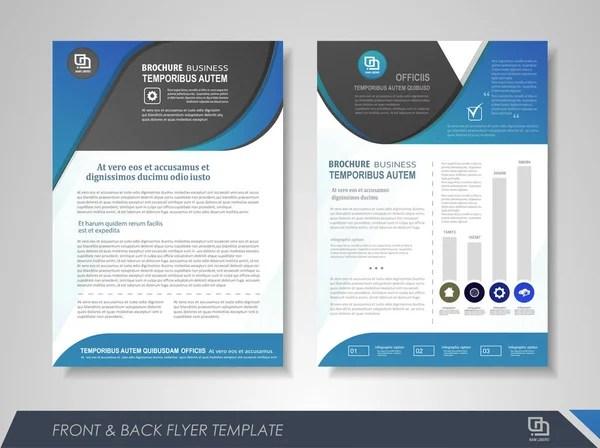 Tri fold brochure design Purple corporate business template for tri
