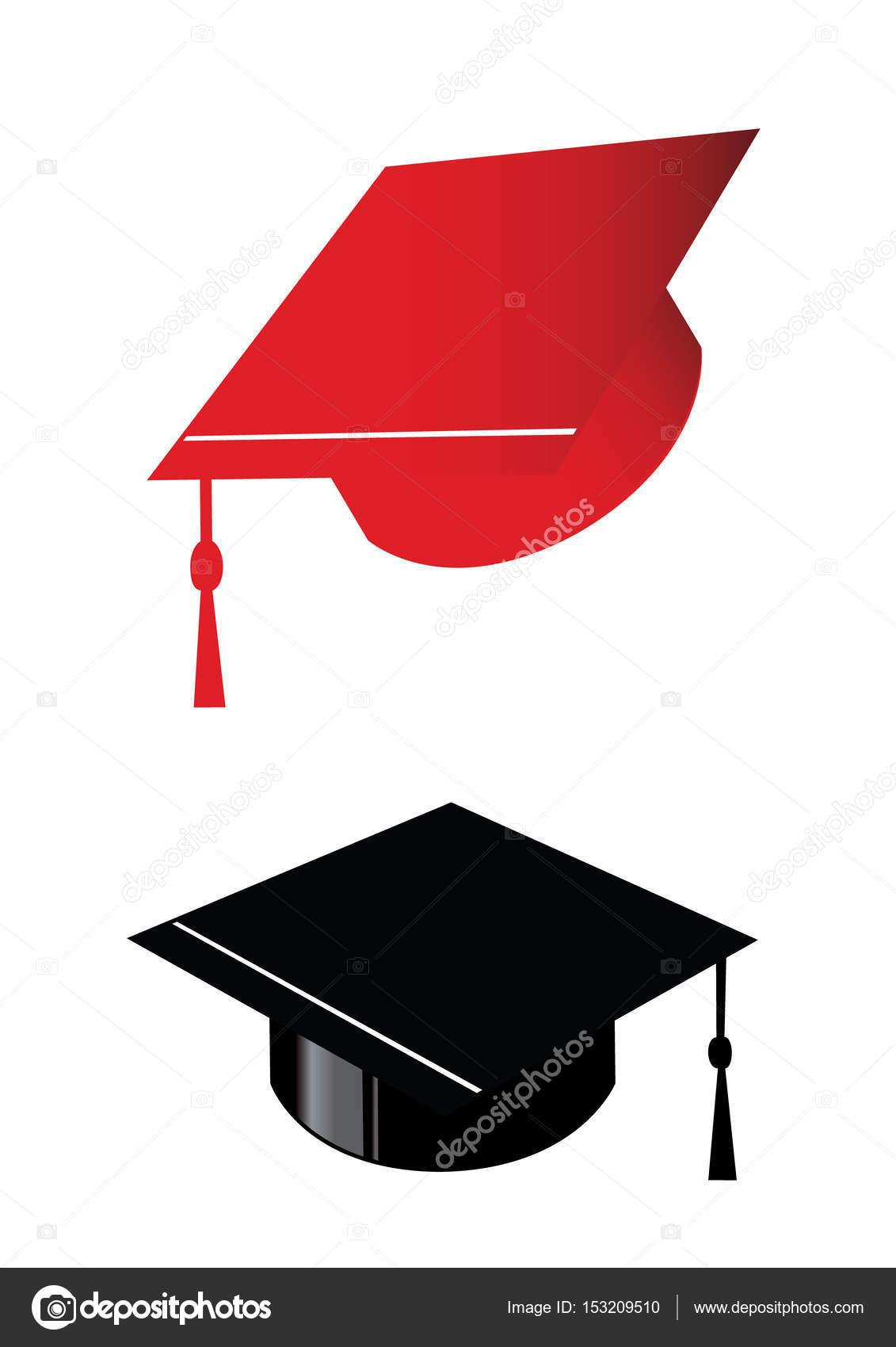 Graduation hats congratulation \u2014 Stock Vector © ekays #153209510