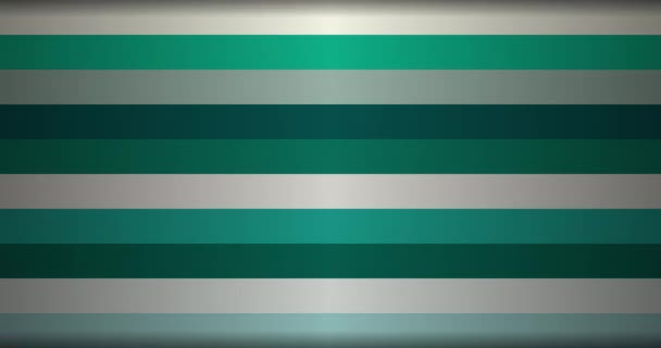 Multicolored chaotically varying horizontal stripes Abstract