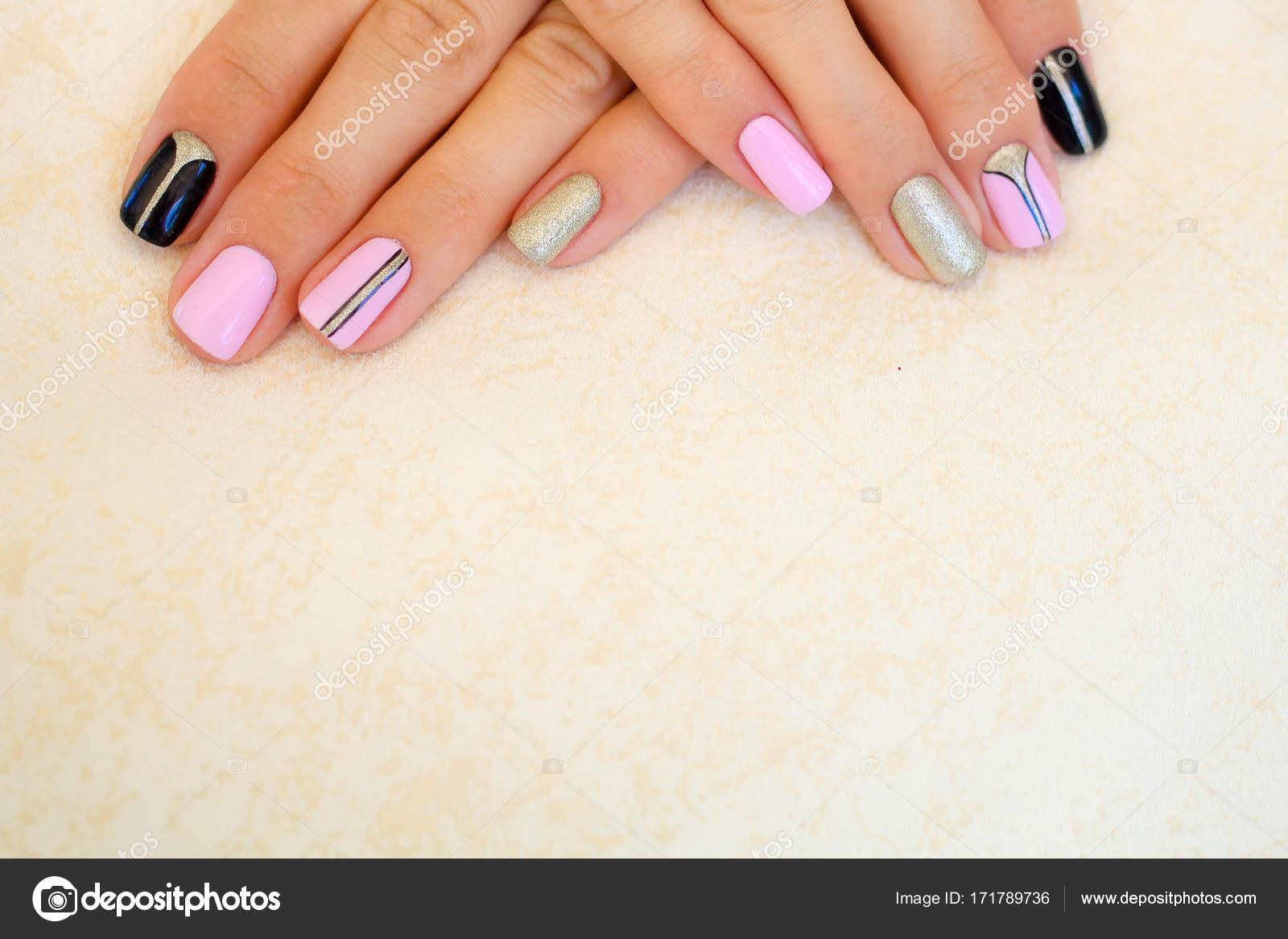 Natural Nails Gel Polish Stylish Nails Nailpolish Nail