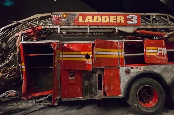 Museo De La Ciudad De Nueva York 9 11 Camion De Bomberos