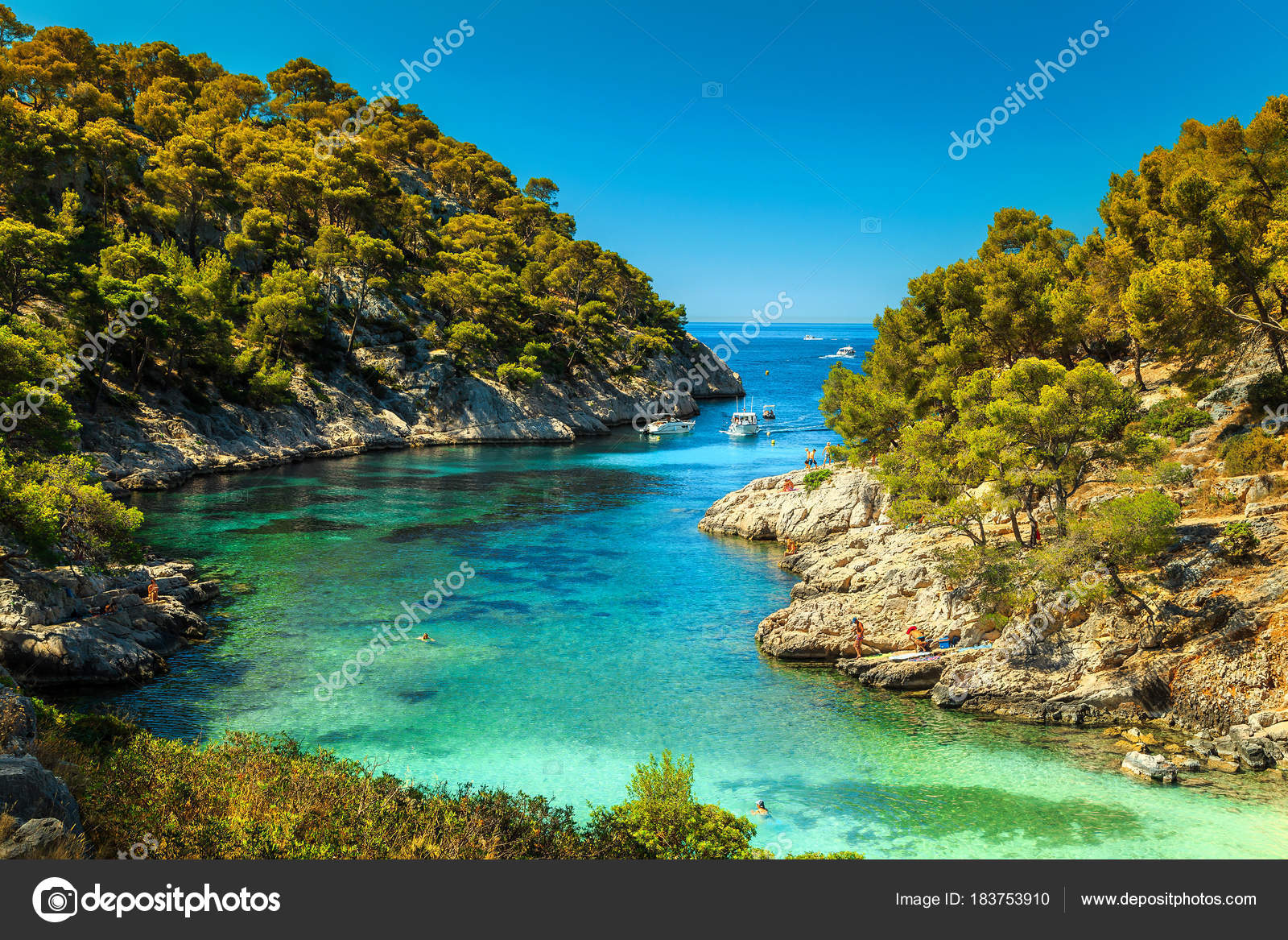 Location Canoe Cassis Amazing Calanques De Port Pin In Cassis Near Marseille France