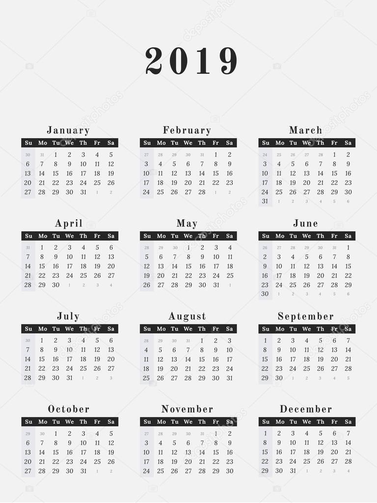 1 day calendar template