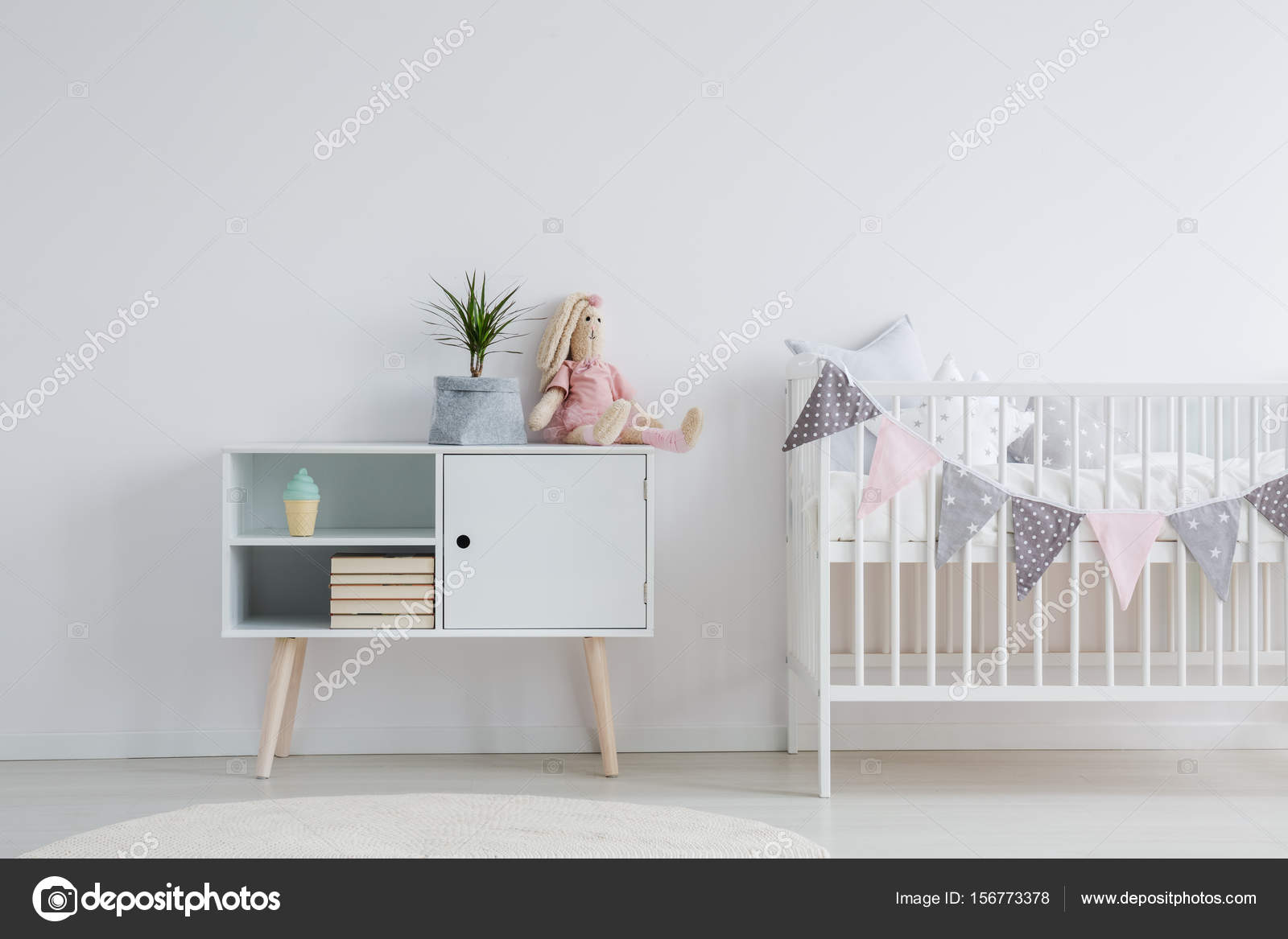 mobel fur babyzimmer set stockfoto photographee eu 156773378