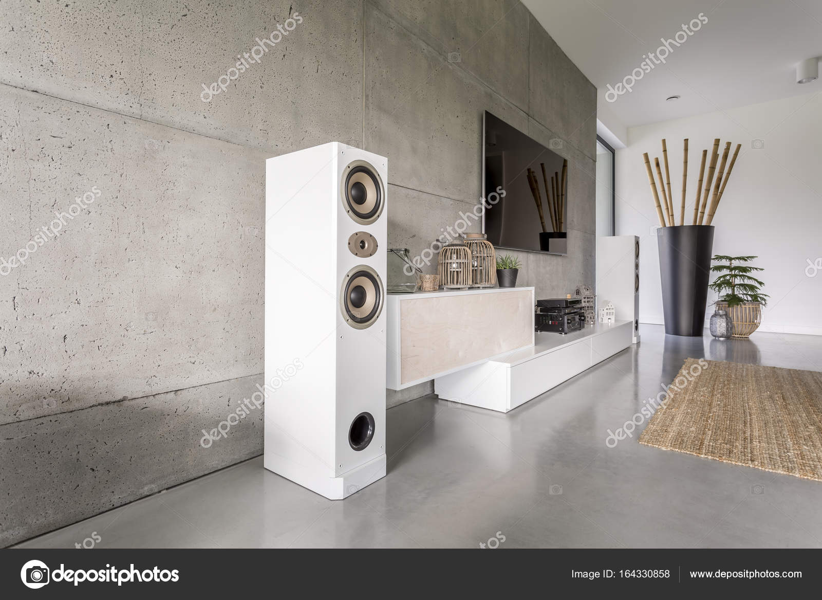 Tappeto Home Theatre Home Theatre In Camera Di Giorno Foto Stock Photographee Eu