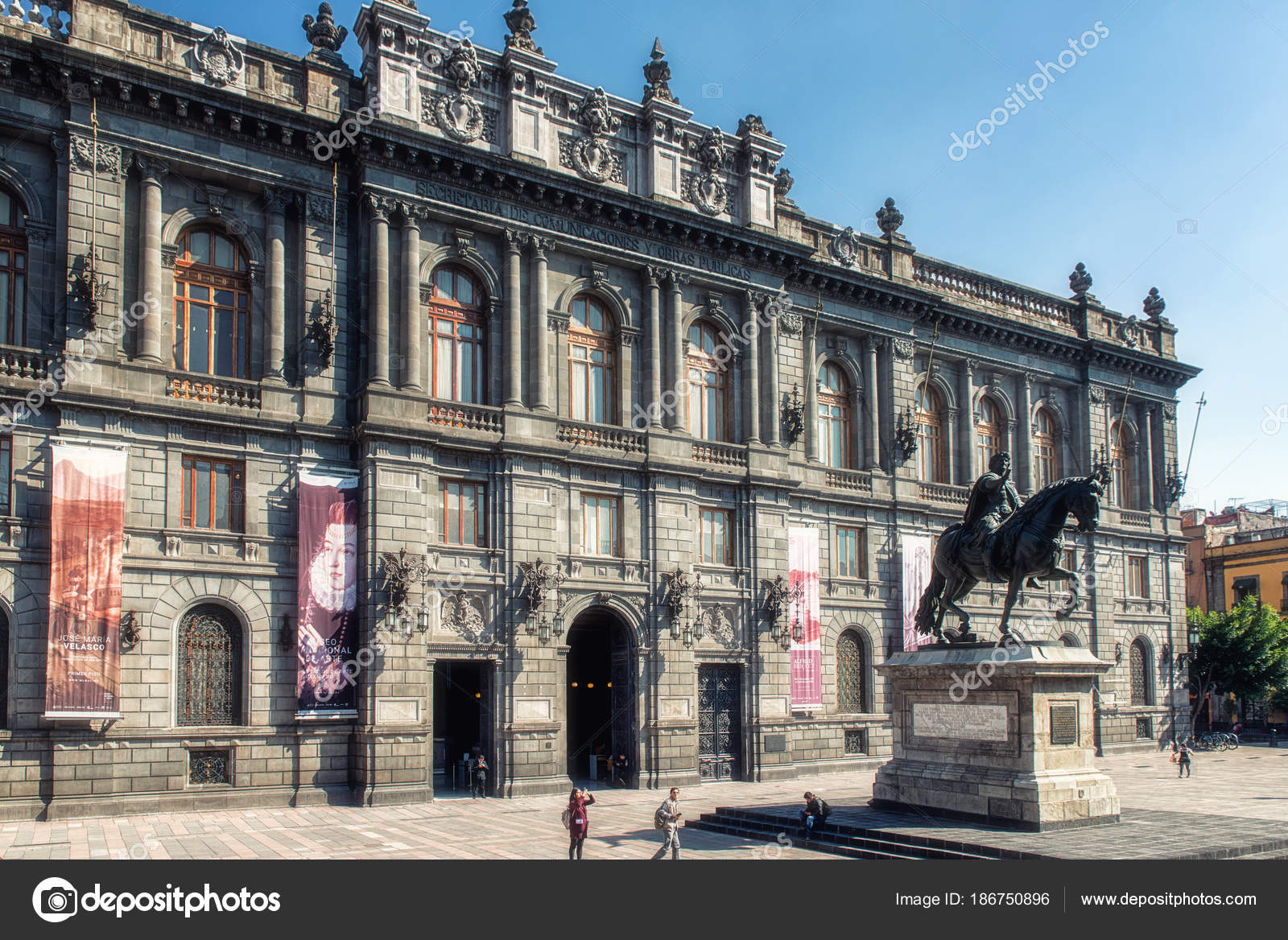 Arte Of Mexico National Museum Of Art Of Mexico City Stock Editorial Photo