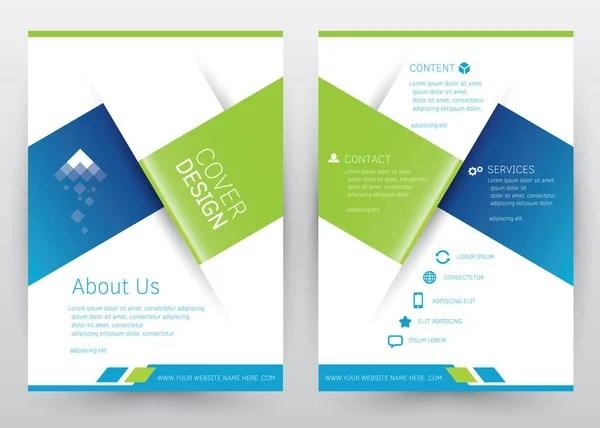 Cover Design Vector template set Brochure, Annual Report, Magazine